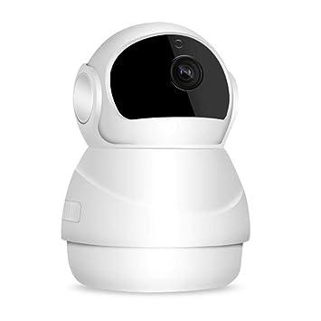Cámara de vigilancia de red inalámbrica inteligente, 1080P IP WIFI Monitorización remota de teléfono móvil