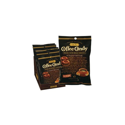 Bali's Best Coffee Candy (Economy Case Pack) 5.3 Oz Bag (Pack of 12)