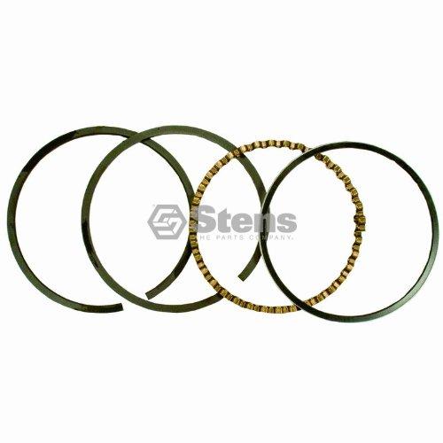 (Stens 500-074 Piston Rings STD, Silver)