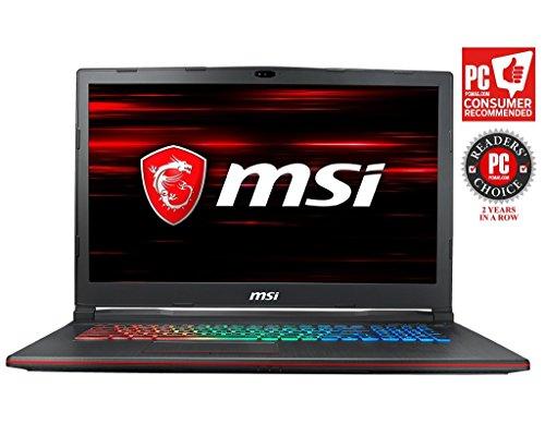 MSI GP73 Leopard-609 (8th Gen Intel Core i7-8750H, 8GB DDR4 2666MHz, 1TB HDD, NVIDIA GeForce GTX 1060 6GB, 17.3' Full HD 120Hz 3ms Display, Windows 10 Home) VR Ready Gaming Laptop
