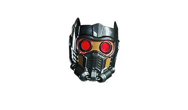 Guardians Of The Galaxy Star-Lord Costume Máscara: Amazon.es: Juguetes y juegos