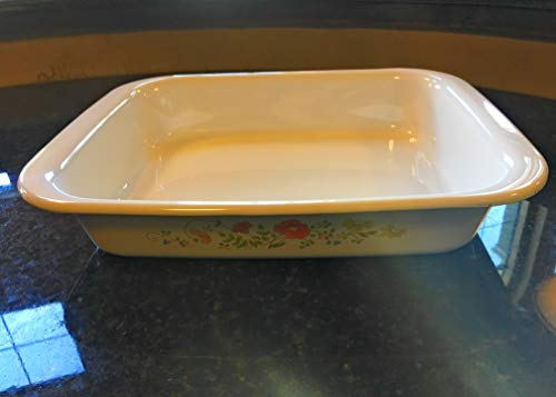 Corning Ware Roaster Lasagna Baking Pan Wildflowers A-21 Corningware