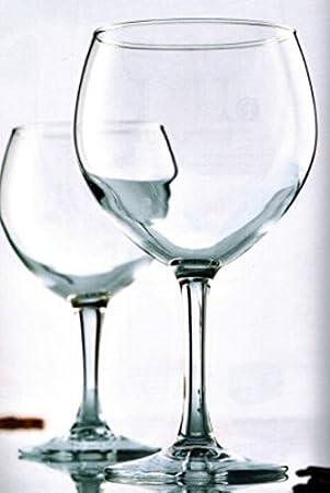 6x Hostelvia havanna62Cóctel de Cristal Gin 0,62l profesional vasos de Gin Tonic Long Drink Cristal Cóctel vasos ProfiLine Lavavajillas Globo Globo de cristal, vasos