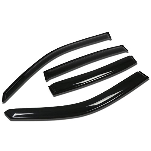 - For Buick Park Avenue 4pcs Tape-On Window Visor Deflector Rain Guard