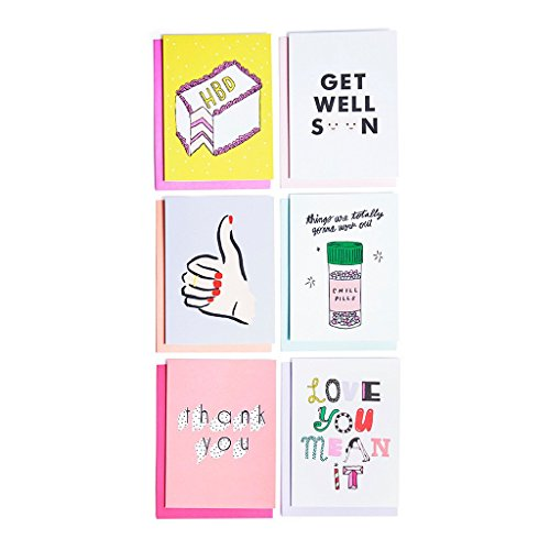 ban.do Hey Girl Hey Assorted Greeting Cards - Kids Ban