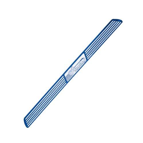OTOTOP 93091 Coppia Battitacco Portiera in Alluminio, 49 cm, Blu
