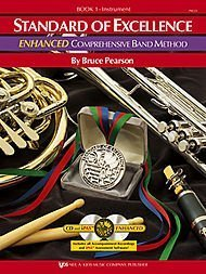 - Kjos Standard of Excellence for Trombone Book 1 with two CDs PW21TB