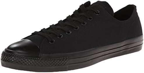 Converse Unisex Chuck Taylor All Star Pro Ox Black/Black Skate Shoe 12 Men US