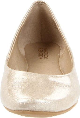 Kenneth Cole Reactie Dames Slip Op Door Ballet Plat Licht Goud