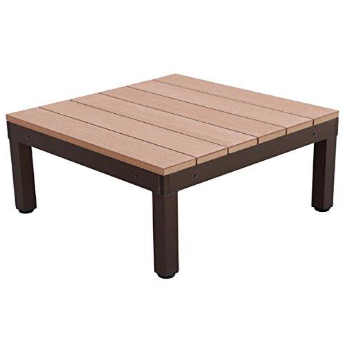 igarden アイガーデン アイウッドデッキPLUS 1点セットナチュラル アイガーデンオリジナル人工木ウッドデッキ、樹脂木、木樹脂、プラウッド、ウッドデッキセット、木製デッキ、縁台 B01N2RZ37H