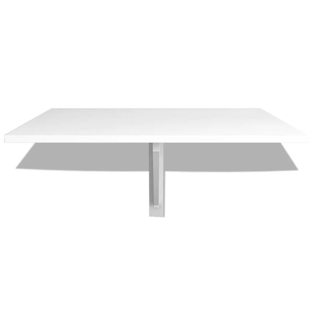vidaXL Table Murale Rabattable Ch/êne Pliable Table dOrdinateur Cuisine Bureau
