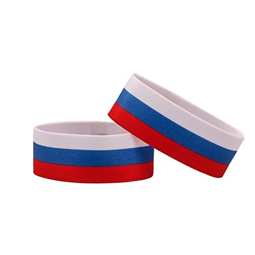 Fanlets Fan-Armb/änder Russland Gr/ö/ße S
