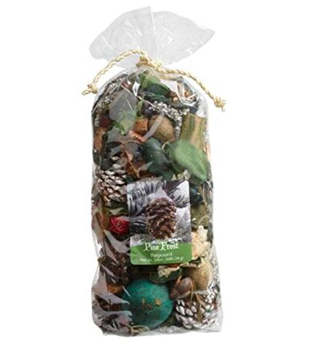 Large Winter Pine Frost and Evergreen Potpourri Bag 7 -Qt. 24 oz