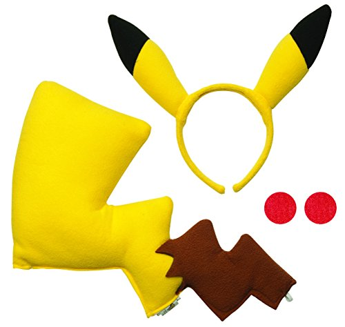 Pokemon Costume Accessory Kit (Pikachu)