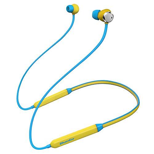 - Wusad Wireless in-Ear Stereo Earphone Active Noise Canceling Sports Headset (Bule)