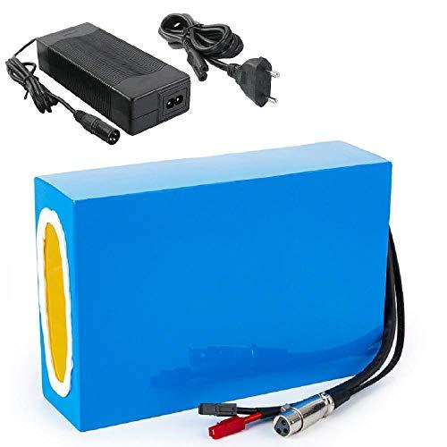 E-bike batterij 36V 20AH, elektrische fiets 18650 lithiumbatterij, geavanceerd BMS, oplader, geschikt voor 500w 350W…