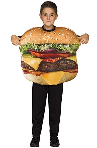 Fun World Cheeseburger Costume, One Size, -
