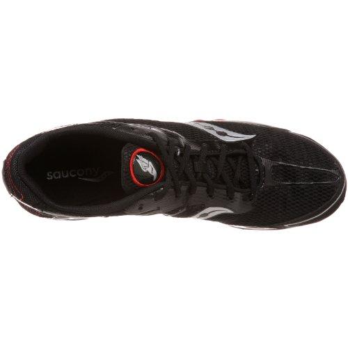 Saucony , Herren Leichtathletikschuhe schwarz schwarz