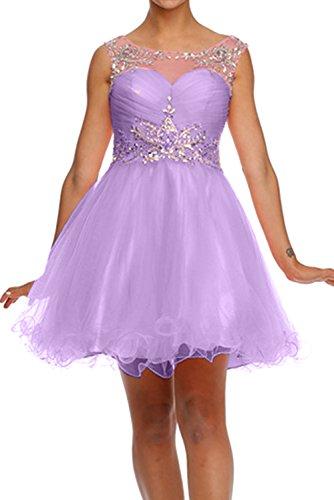 Ivydressing - Vestido - trapecio - para mujer Lilac