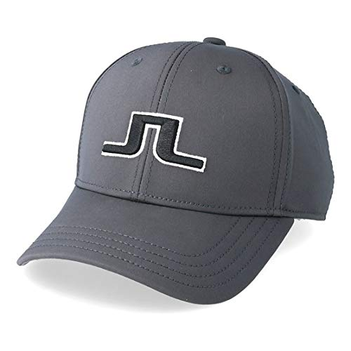 J.Lindeberg Angus Tech Stretch 86MG Golf Cap 2018 Dark Gray One Size Fits All