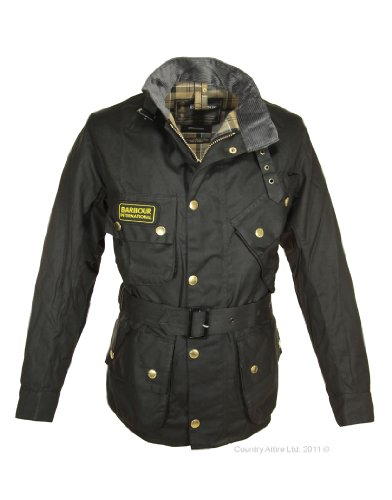Waxed Cotton Motorcycle Jacket - 3