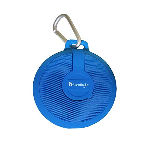LANDBYTE LB-210 Blue Wireless Bluetooth Waterproof, Dustproof, Drop Outdoor Portable Stereo Mini Speaker Subwoofer. Large-Capacity Player, Tablet For All Types Of Mobile Phones by LANDBYTE