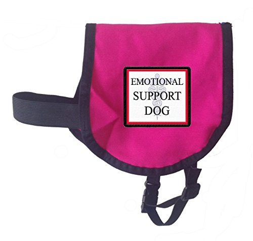Emotional Support Dog Vest RASPBERRY