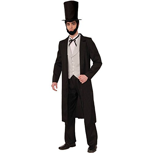 [Abraham Lincoln Deluxe Adult Costume - Standard] (Abraham Lincoln Deluxe Adult Costumes)