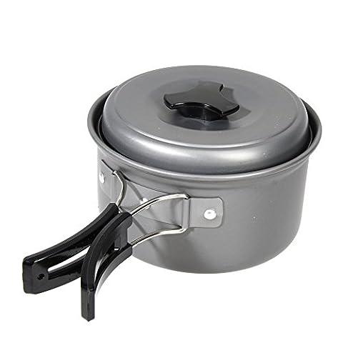 Outdoor Camping Cookware Hot 8pcs/set Portable Cooking Picnic Bowl Pot Pan Set