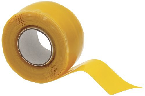 X-Treme Tape TPE-XZLYEL Silicone Rubber Self Fusing Tape, 1