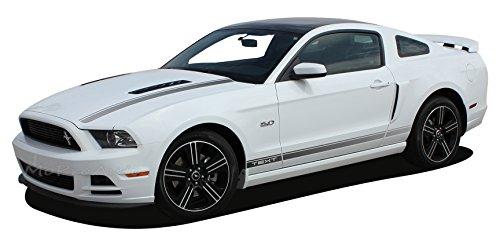Stripes Rocker Panel Mustang - MUSTANG CALI : 2013-2014 Ford Mustang