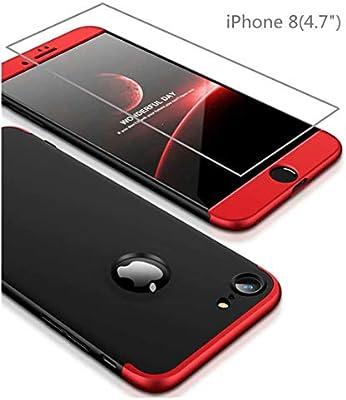 Funda iPhone 8 Cubierta de 360°Caja AILZH Protección de Cáscara ...
