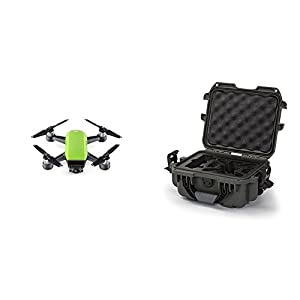 DJI Spark Meadow Green Fly More Combo w/ Olive Nanuk Case
