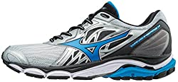Mizuno Men's Wave Inspire 14 Running Shoe, Silverdirectoi, 9