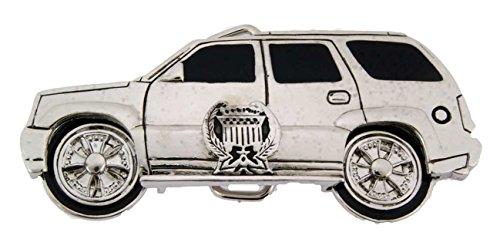 Utility Car Mud Girl Wheel Rims Spinner Silver Belt Buckle Metal Fashion Unisex