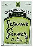 Chelton House Gluten Free Organic Sesame Ginger Vinaigrette 1 oz-Pack of 100
