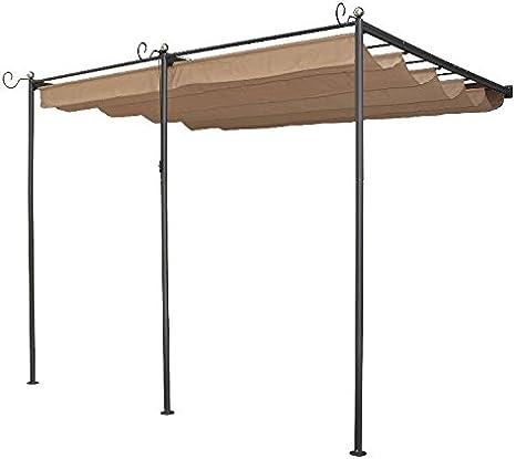 Al aire libre cubierta Canopy Comedor Jardín Exterior Patio ...