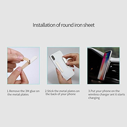 Nillkin Magnetic Wireless Charger Air Vent Car Mount Holder Pad For Phone
