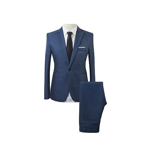 WNGO_Men Suit Traje térmico de Tres Piezas para Hombre ...