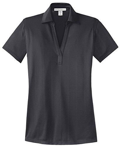 port-authority-ladies-performance-fine-jacquard-sport-shirt-xs-grey-smoke