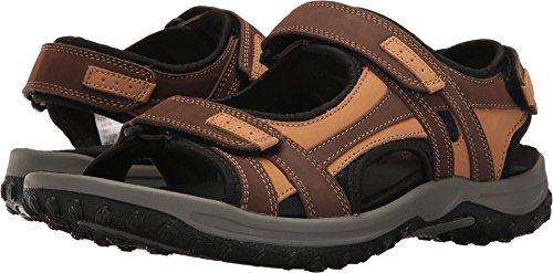 Drew Shoe Men's Warren Sandals,Brown,11 (Drew Mens Athletic Shoe)