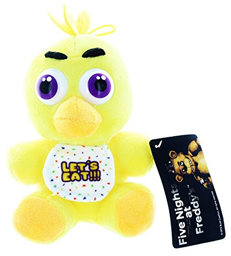 [1 pcs Five Nights At Freddy's FNAF CHICA Plush Toy + GIFT FREE (FNAF 4pcs/set Action figure] (Sims 3 Bear Costume)