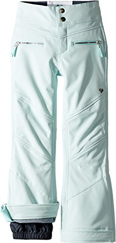 Obermeyer Kids Girl's Jolie Softshell Pants (Little Kids/Big Kids) Seaglass Small by Obermeyer Kids (Image #2)