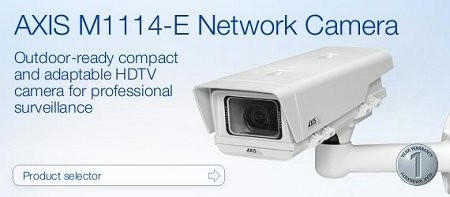 AXIS M1114-E Network Camera Color Fixed Outdoor PoE