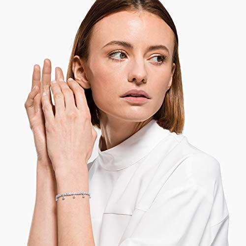 Swarovski Women's Subtle Bracelet Jewelry Collection, Clear Crystals