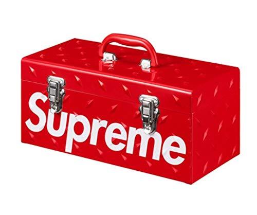 - Supreme Diamond Plate Tool Box Red