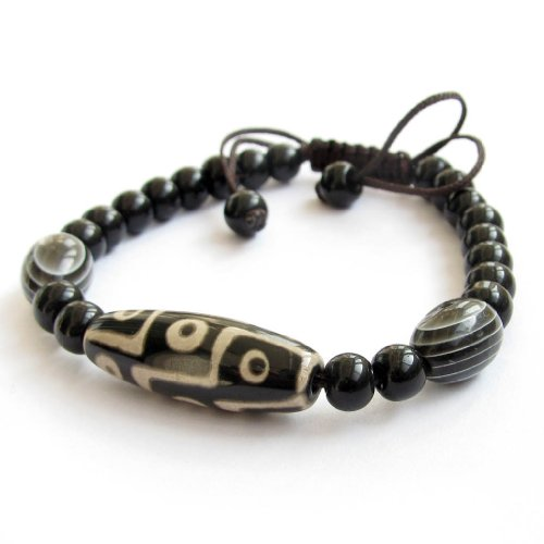 Tibetan buddhist dzi beads bracelet buy online in uae for Zen culture jewelry reviews