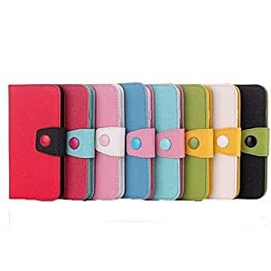 SOL Hit Color Flip PU Leather Cover for iPhone 6(Assorted Colors) , Green