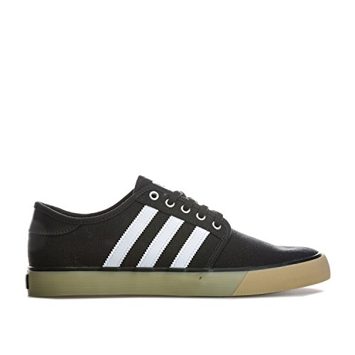 Adidas Originals Mens Seeley Essentials Trainers Kern Us6.5 Zwart