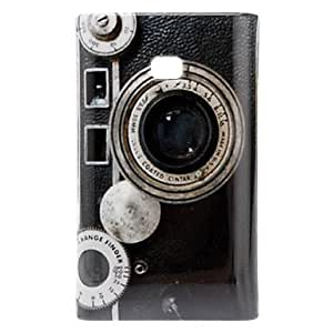 Camera Pattern Hard Case for LG E400/L3